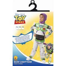 Déguisement Toy Story Buzz l'Eclair avec Capuche, Taille M - Déguisement enfant