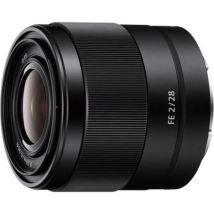 Objectif Hybride Sony Fe 28 Mm F/2 Sel Noir