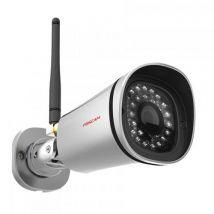 Caméra IP Wi-Fi extérieure Foscam FI9900P HD 2 Mp Argent - Équipement et sécurité pour la maison