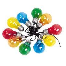 Guirlande lumineuse multicolore Lumisky Fantasy C10 - Luminaire extérieur