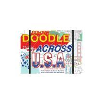 COLOUR & DOODLE YOUR WAY ACROSS THE USA - (donnée non spécifiée)