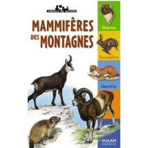 MAMMIFERES DES MONTAGNES - broché