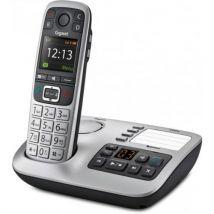 Téléphone fixe sans fil E560 A Argent - Téléphone sans fil