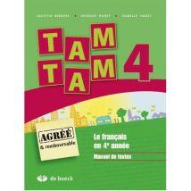 TAM TAM / 4E ANNEE - broché