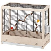 Cages pour canaris, perruches et oiseaux exotiques Ferplast GIULIETTA 4 en bois - Volaille