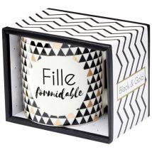 Mug Draeger Black and Gold Fille Formidable - Carnet, journal intime