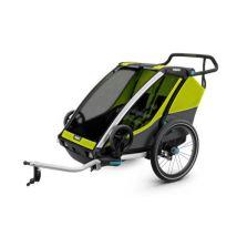 Remorque pour 2 enfants Thule Chariot Cab 2 - Equipement ou accessoire de cyclisme