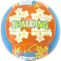Ballon de beach-volley Spalding Ibiza Taille 5 Bleu, Orange, Blanc et Jaune - Ballon