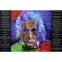 Poster Close Up As Quoted by Einstein David Lloyd Glover 61 x 91,5 cm