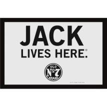 Espelho Close Up Jack Daniel'S Jack Lives Here Classic