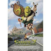 Poster Close Up Shrek 2 84 x 59 cm