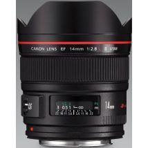 Objectif Reflex Canon Ef 14 Mm F/2.8 Série L Ii Usm