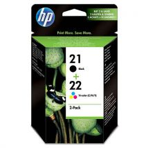 Cartouche HP Bi-Pack 21+ 22 (SD367AE)