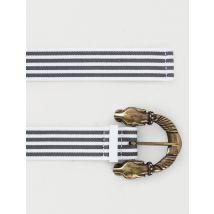 Striped belt Grey - Maje - Women