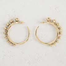 Hoop earrings Arty Gold - Maje - Women