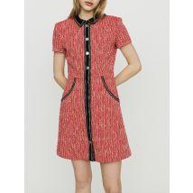 Tweed-style dress Red - Maje - Women