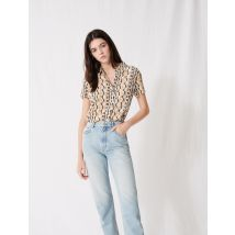 Mum-style High-waisted Jeans - T34 - - Maje