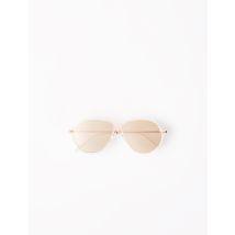 Acetate Aviator Sunglasses - TU - Pink - Maje