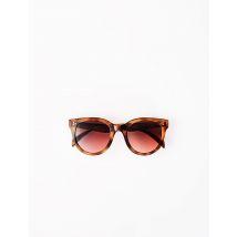 Round Acetate Sunglasses - TU - Scale - Maje