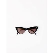 Acetate Butterfly Sunglasses - TU - Black - Maje