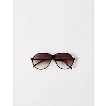 Acetate Aviator Sunglasses - TU - Black - Maje