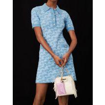 Maje Jacquard Dress - T12 - Blue Sky - Maje