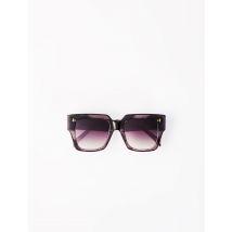 Brown Square Sunglasses - TU - Multi-coloured - Maje