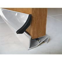 Wickes Threshold and Rain Deflector White 838 mm