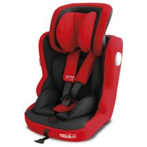Siège auto Baby Fox 'Master FIX' Groupe 1/2/3 - Rouge