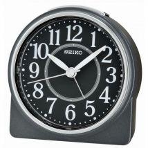 Seiko Clocks Réveil Seiko QHE137KN - Réveil Rond Noir-Seiko Montre