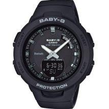 Montre Casio BABY-G BSA-B100-1AER - Montre Résine Chronographe Noire