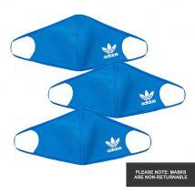 Face Masks 3 Pack - Blue