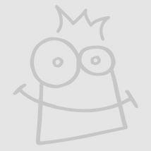Glitter Flower Wrist Tattoos (Per 6 packs)