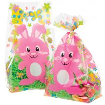 Easter Bunny Cellophane Bags (Pack of 30)