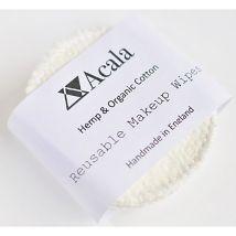 Acala Reusable Hemp & Organic Cotton make-up wipes