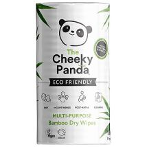 The Cheeky Panda Plastic Free Biodegradable Bamboo Dry Wipe, 100 Wipes