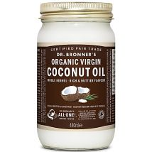 Dr Bronner's Organic Virgin Coconut Oil Whole Kernel - 440ml