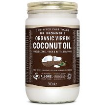 Dr Bronner's Organic Virgin Coconut Oil Whole Kernel - 900ml