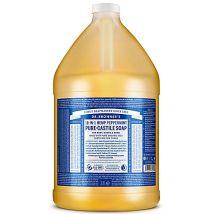 Dr. Bronner's Peppermint Castile Liquid Soap - 3.8L