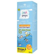 Natures Aid DHA (Omega 3) drops for Infants & Children