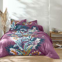 Linge de lit Solange - coton - Violet - Coton - Colombine