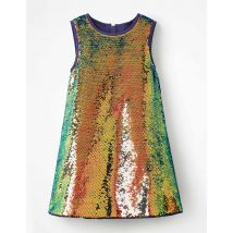 Robe à super sequins MUL Fille Boden, Multi