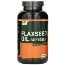 ON Flaxseed Oil - 200 Softgels