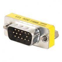 C2G HD15 VGA M/M Mini Gender Changer (Coupler)