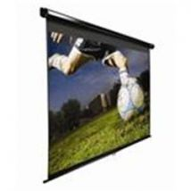 Elite Screens 85 Manual 1:1 Format Pull-down Screen - White