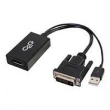 C2G DVI Male to DP Female Adapter Converter