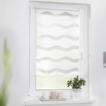 Duo-Rollo Welle 100cm x 150 cm 100cm x150cm weiß x Fensterwelten