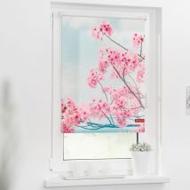 Rollo 100cm x 150 cm 100cm x150cm Kirschblüten x Fensterwelten