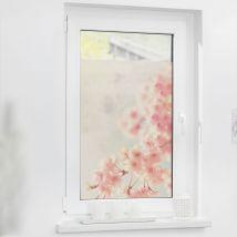 Fensterfolie selbstklebend, Sichtschutz 100cm x 130cm Fensterwelten
