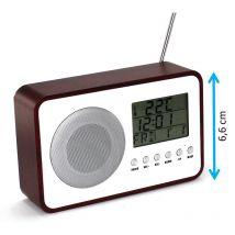 Radio réveil rétro